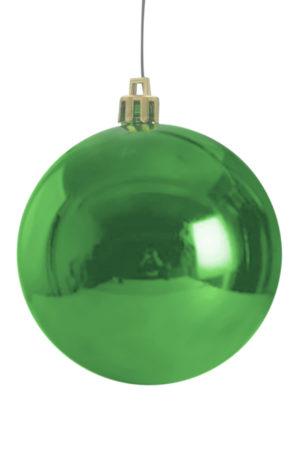 Christmas Ball 50mm Glossy Green