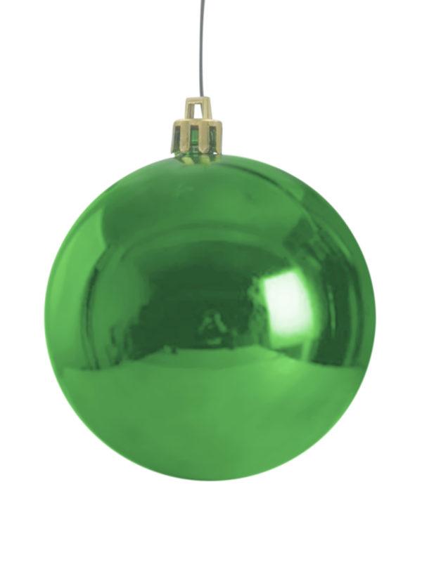 Christmas Ball 70mm Glossy Green