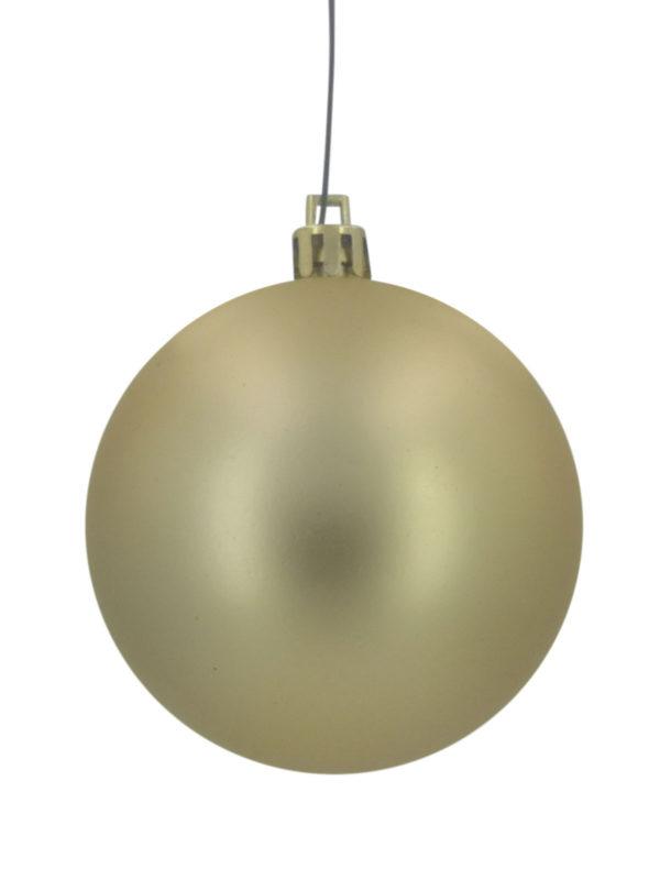 Christmas Ball 100mm Matt Gold