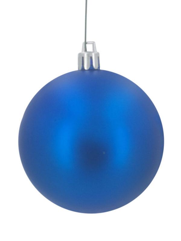 Christmas Ball 100mm Matt Blue