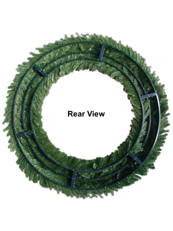 Rear View of Wreath