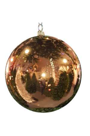 Christmas Ball 300mm Glossy Copper