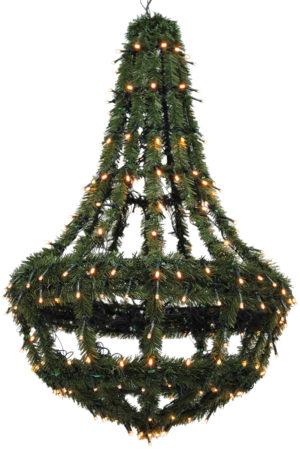Christmas Street Chandelier 80cm
