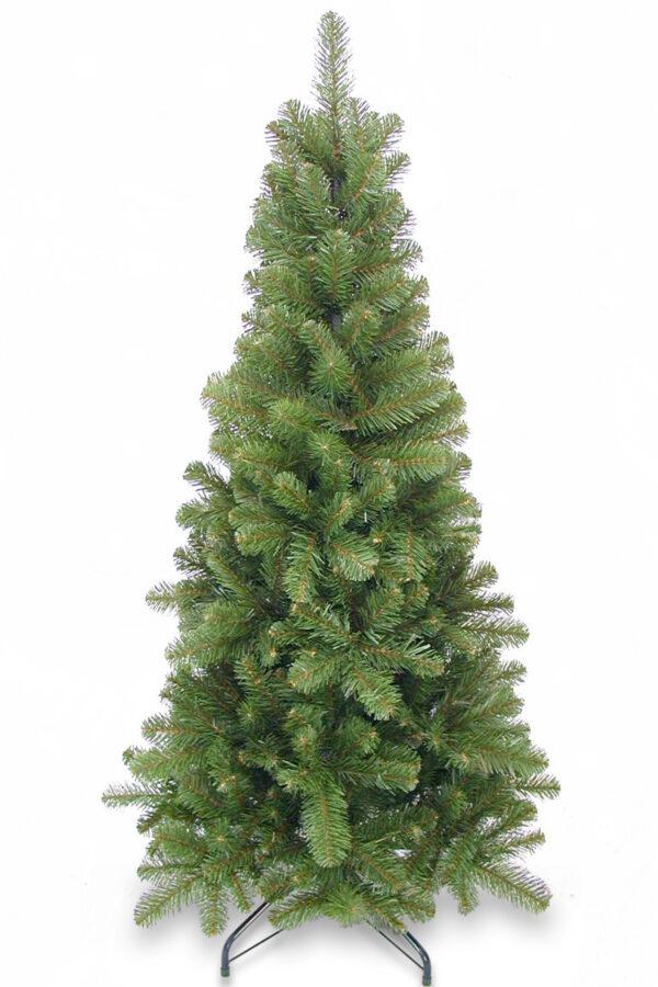 4.5ft Pencil Pine Christmas Tree Green 1.37m