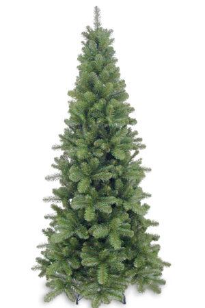 6ft Pencil Pine Christmas Tree Hinged Green 1.83m