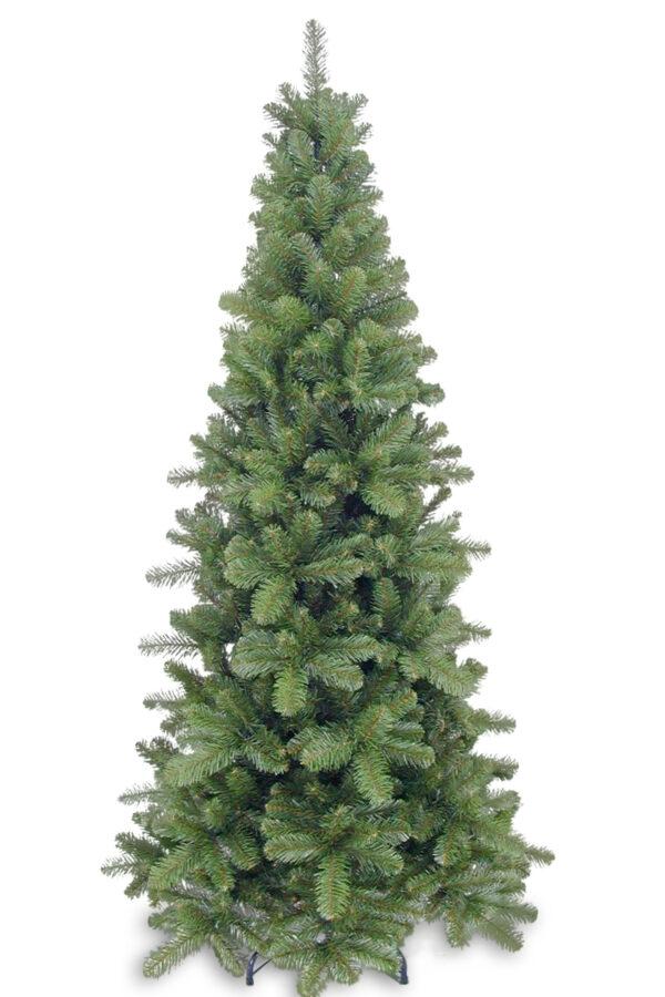 6ft Pencil Pine Christmas Tree Green 1.83m