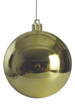 Christmas Ball 200mm Glossy Gold