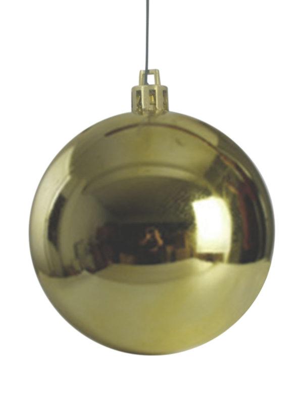 Christmas Ball Glossy Gold