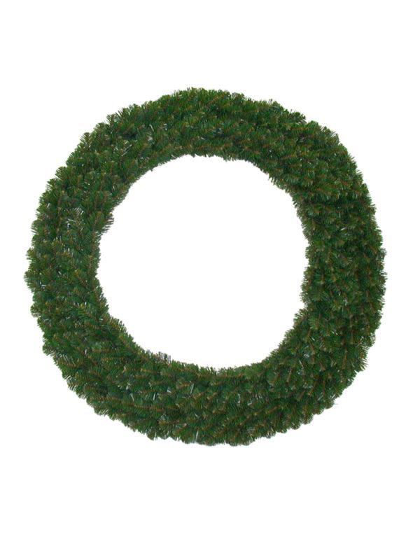 48 inch Alberta Christmas Wreath Green 1.22m