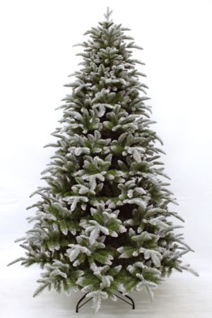 7ft Balsam Fir Christmas Tree Frosted Green 2.13m