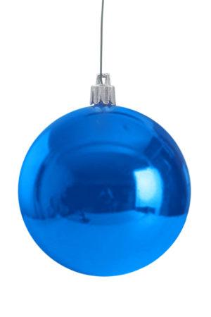 Christmas Ball 200mm Glossy Blue