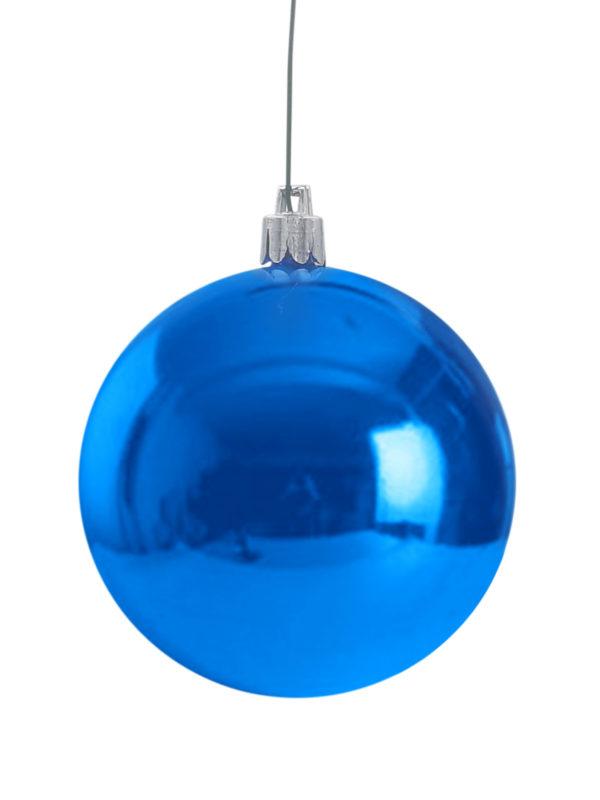 Christmas Ball Glossy Blue