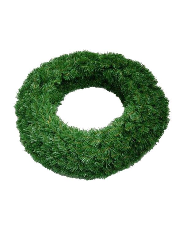 48 inch Wreath Double Sided Alberta Spruce 1.22m