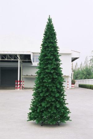 12ft Pencil Pine Christmas Tree Green 3.66m