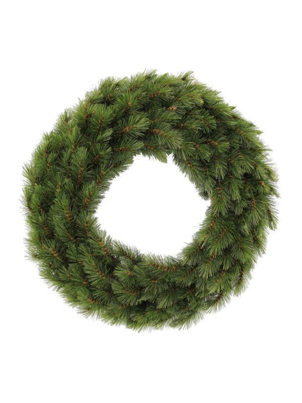 24 inch Wreath Geneva Pine Green 61cm