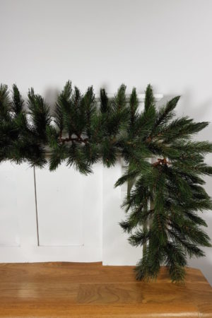 6ft Christmas Table Garland Geneva Pine Green 1.83m
