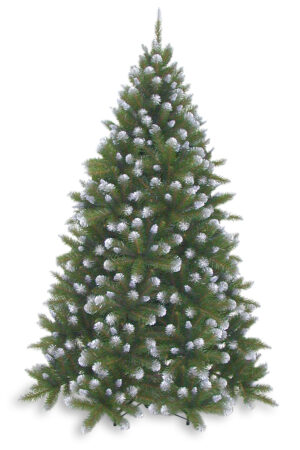 9ft Grand Empress Spruce Christmas Tree Frosted Green 2.74m