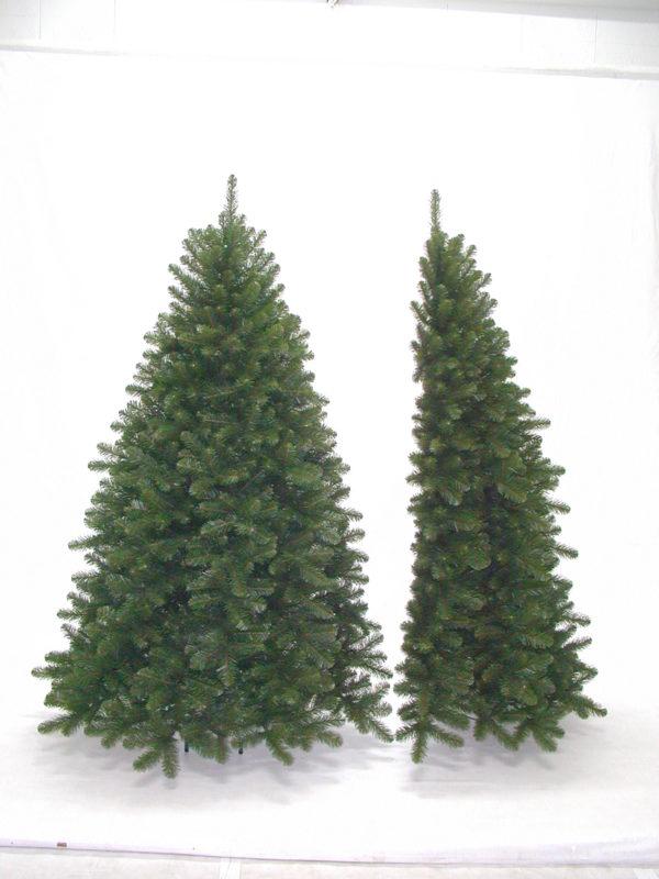 7ft Scandia Spruce Christmas Half Tree Green 2.13m