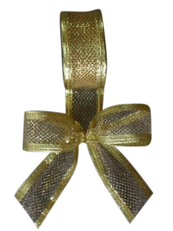Ribbon Gold Net