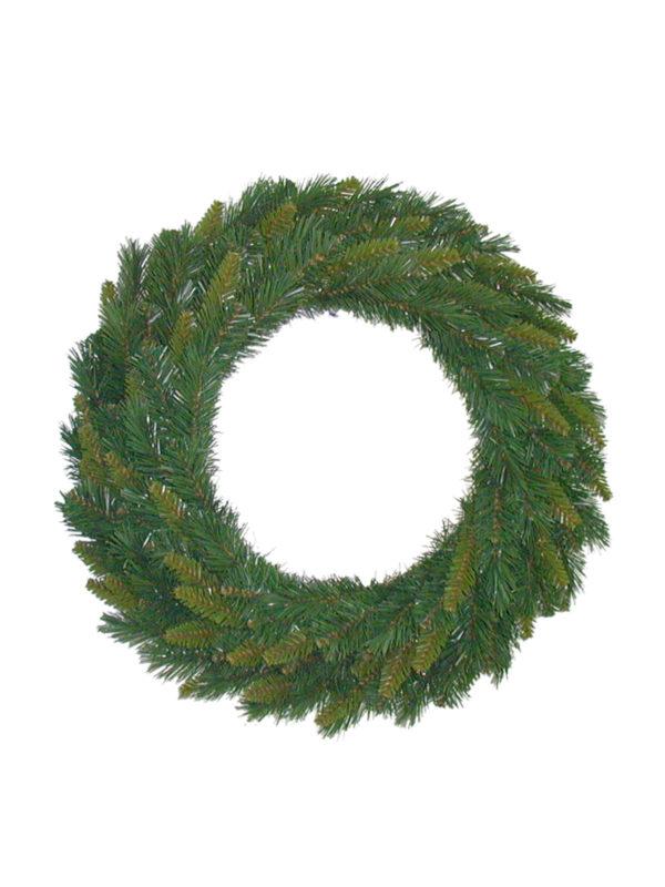 18 inch New Hampshire Pine Wreath Deluxe Green 46cm