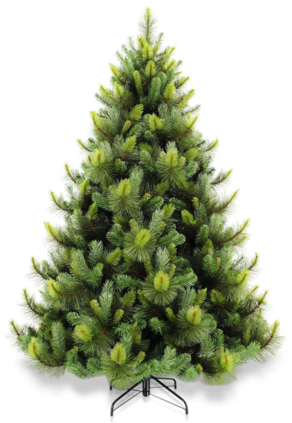 7ft Ponderosa Pine Christmas Tree  Green 2.13m