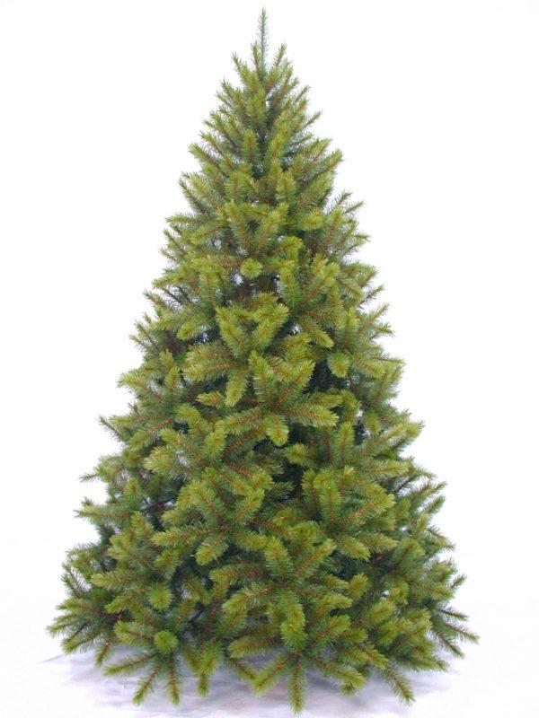 7ft Sierra Nevada Pine Christmas Tree Hinged Green 2.13m