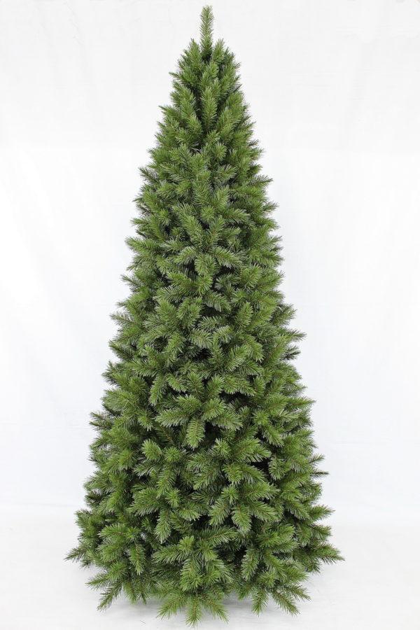 8ft Slim Vienna Spruce Christmas Tree Hinged 2.44m