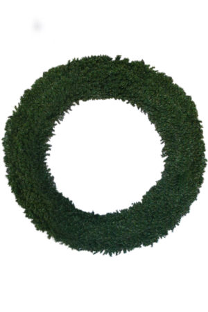 Commercial Wreath Green 2.5m