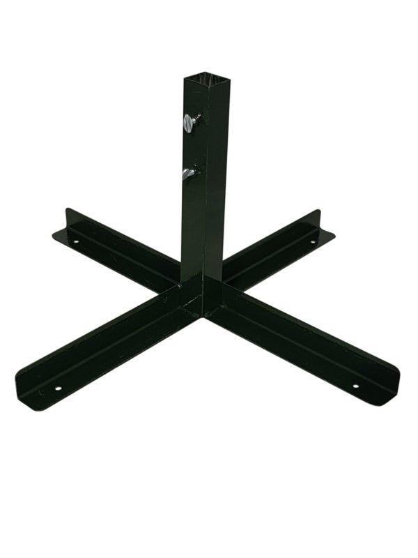 Commercial Tree Stand Cross Base Green