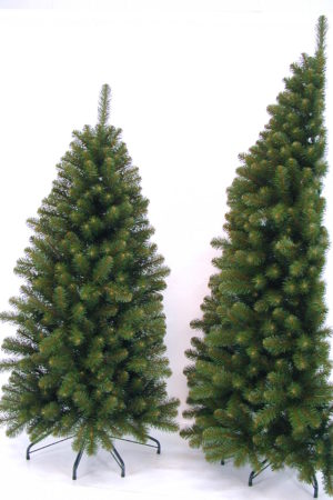 7ft Corner Christmas Tree Green 2.13m