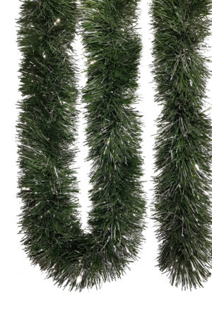 Forest Garland 5.5m (18ft) 10 ply – 150mm Green/Silver