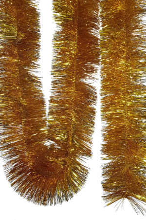 Tinsel 5.5m (18ft) 4 ply – 150mm Gold