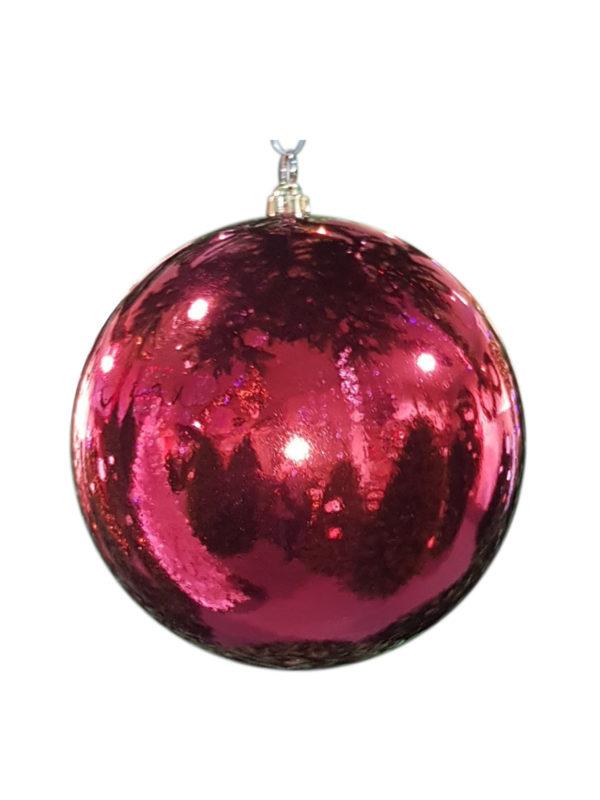 Christmas Ball 300mm Glossy Red