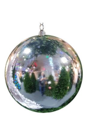 Christmas Ball 300mm Glossy Silver