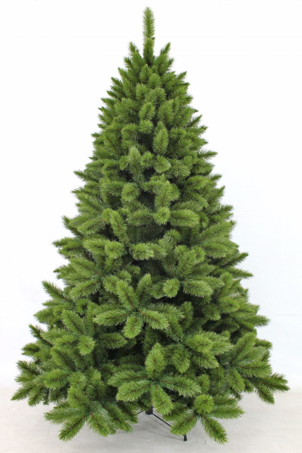 7ft Pitch Pine Christmas Tree Green 2.13m
