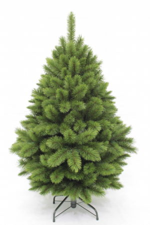 4.5ft Pitch Pine Christmas Tree Green 1.37m