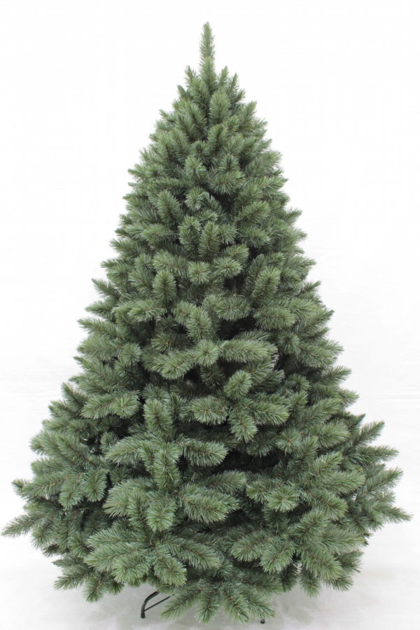 6ft Pitch Pine Christmas Tree New Growth Blue 1.83m