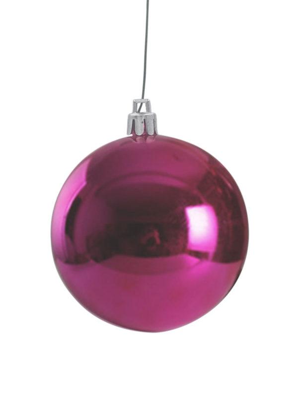 Christmas Ball Glossy Cerise