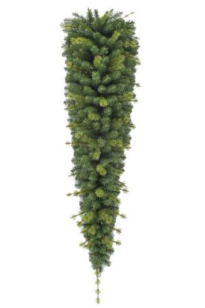 6ft Hanging Christmas Garland Triangular deluxe 1.83m