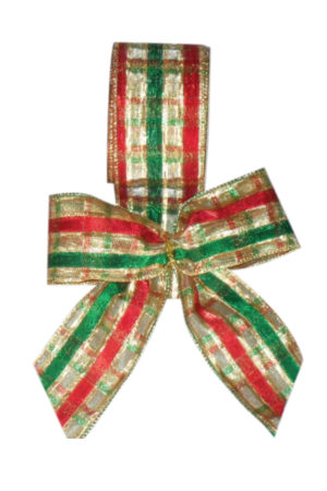 Christmas bow hand made in our factory (Pack of 10)