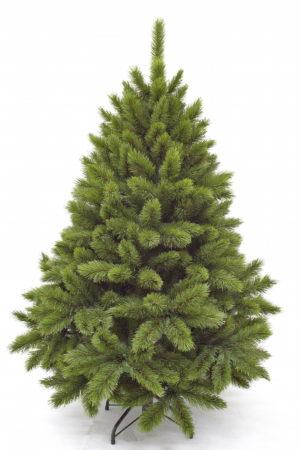 6ft Pitch Pine Christmas Tree Green 1.83m Hinged