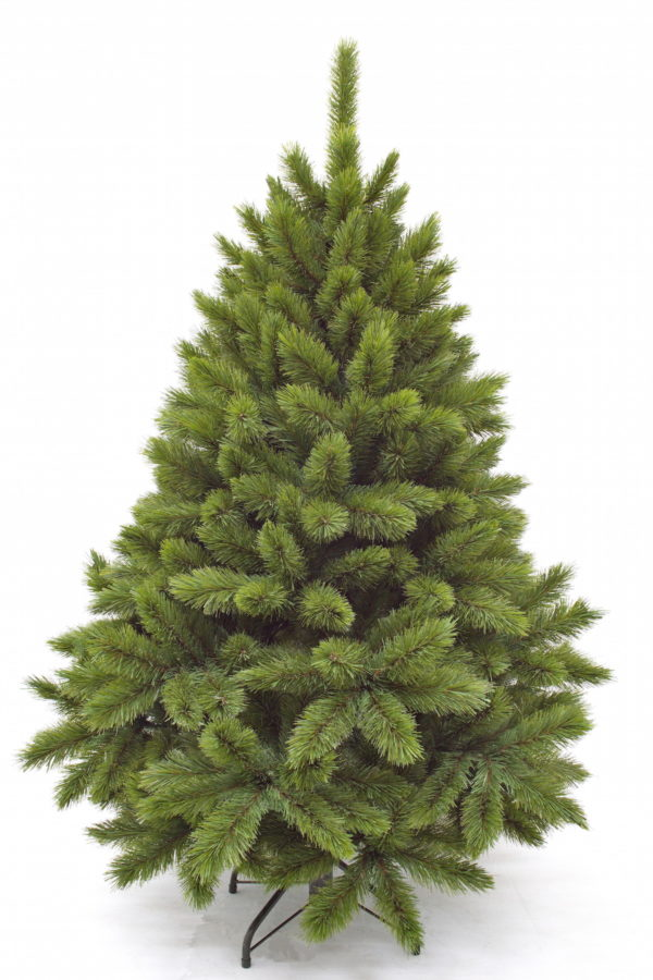 5ft Pitch Pine Christmas Tree Green 1.52m Hinged