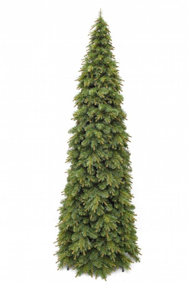 7ft Slim Glendale Pine Christmas Tree Green 2.13m