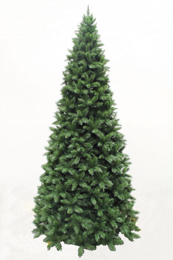 12ft Slim Vienna Spruce Christmas Tree Hinged Green 3.66m