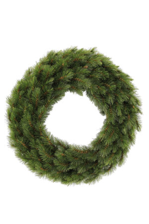 24 inch Glendale Pine Wreath – Green – 61cm