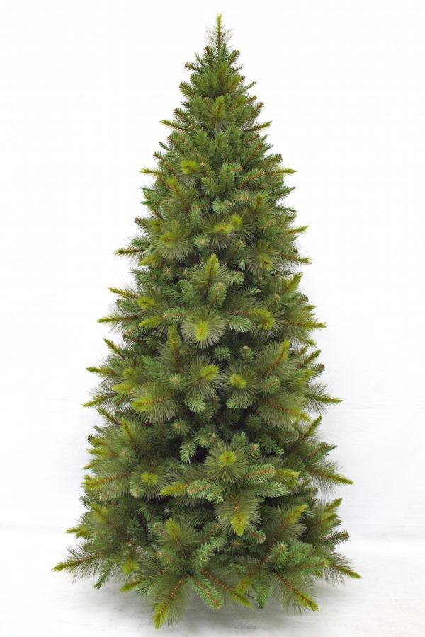 7.5ft Slim Oxford Spruce Christmas Tree Green 2.28m