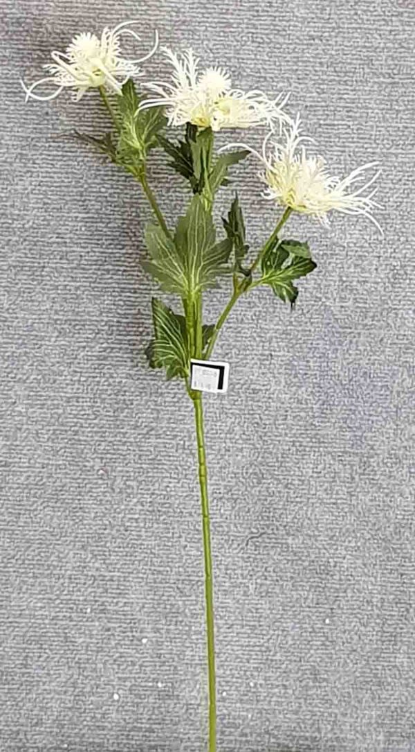 Eryngium Branch 68 cm – White
