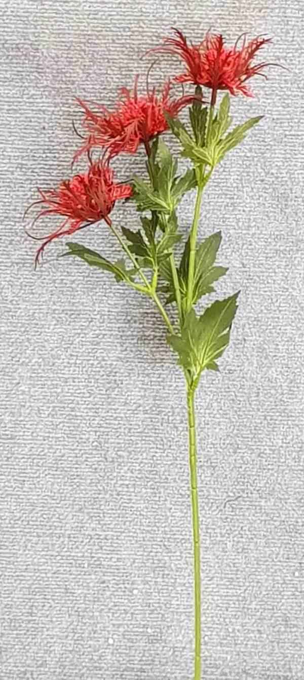 Eryngium Branch 68 cm – Red