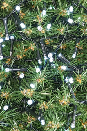 Fairy Christmas light string x 280 LED White Light – Indoor Outdoor
