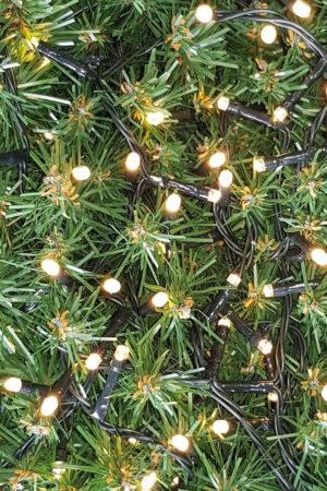 Fairy Christmas light string x 280 LED Warm White Light – Indoor Outdoor